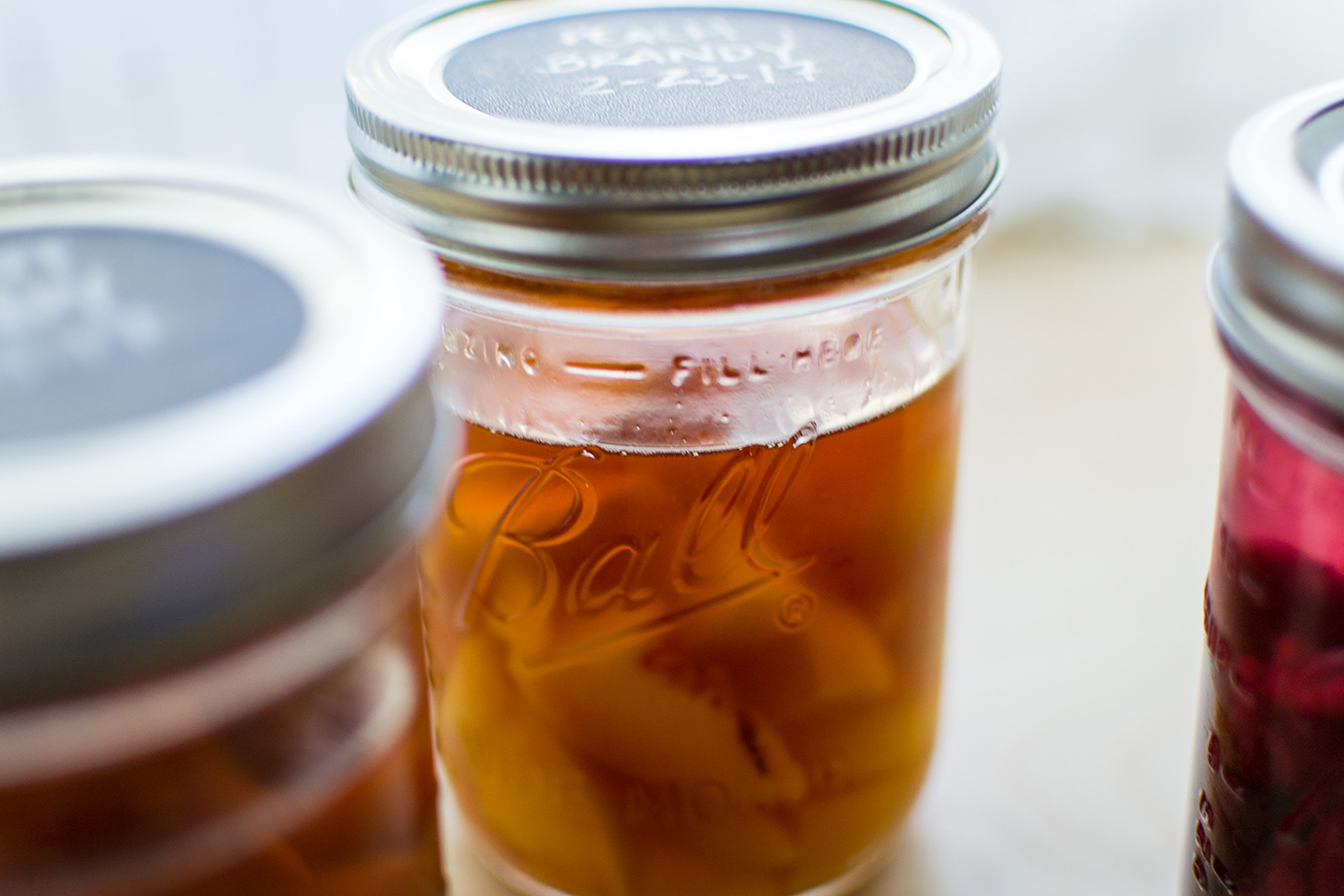 preserving and fermenting