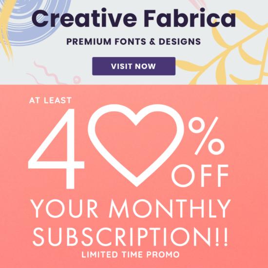 Creative Fabrica Promo